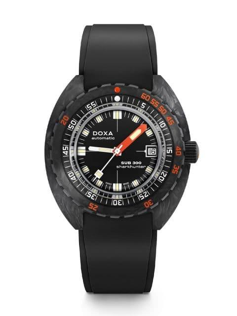 Doxa: Sub 300 Carbon COSC Sharkhunter Black
