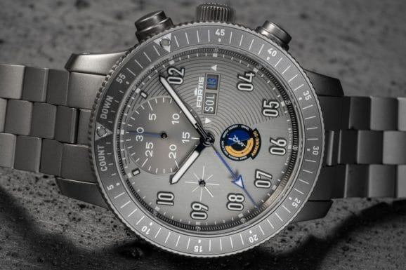 Fortis. Official Cosmonauts Chronograph Amadee-20