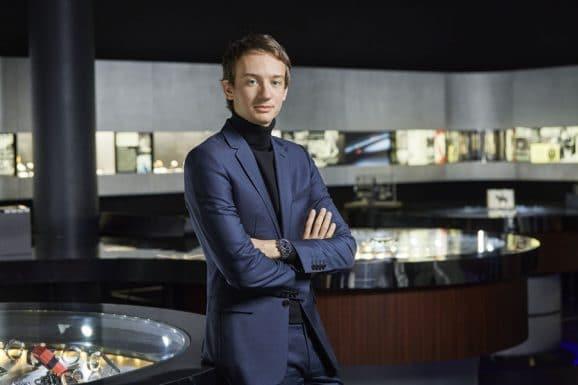 Frédéric Arnault, CEO von TAG Heuer