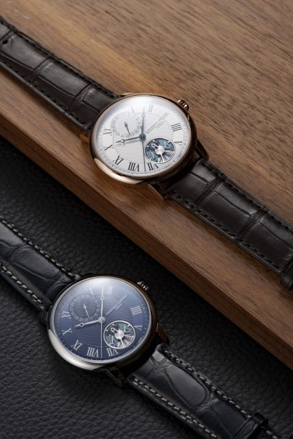 Frederique Constant: Slimline Monolithic Manufacture in Edelstahl beziehungsweise Roségold