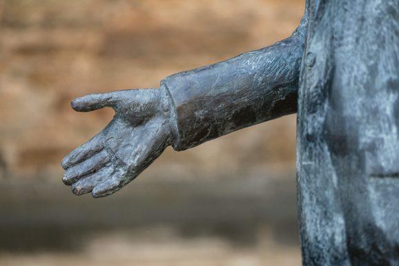 Glashütte Walter Lange: Die ausgestreckte Hand