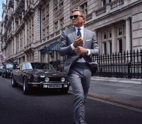 """Daniel Craig und die Omega Seamaster Diver 300M 007 Edition in """"James Bond - Keine Zeit zu sterben"""""""