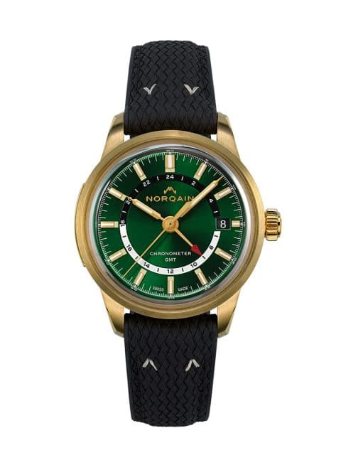 Norqain: Freedom 60 GMT Forest Green Limited Edition