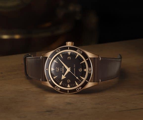 Omega: Seamaster 300 Bronze Gold