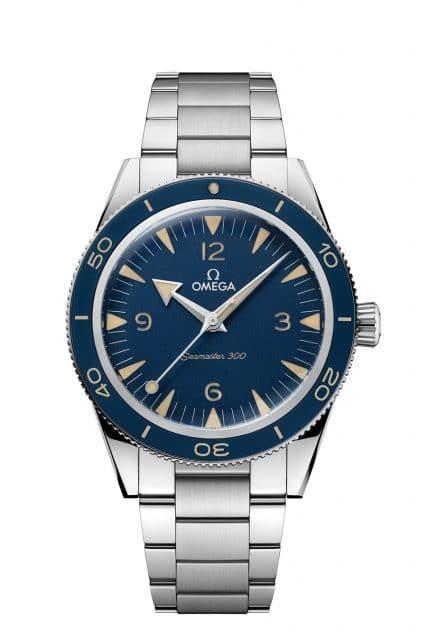 Omega: Seamaster 300 mit blauem Zifferblatt