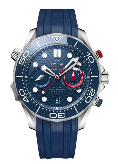 Omega: Seamaster Diver 300M America's Cup Chronograph