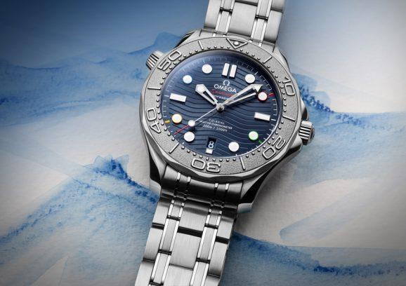 Omega: Seamaster Diver 300M Beijing 2022