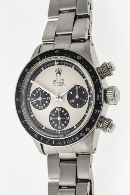 Rolex: Paul Newman Mark 1 Panda Seitenansicht