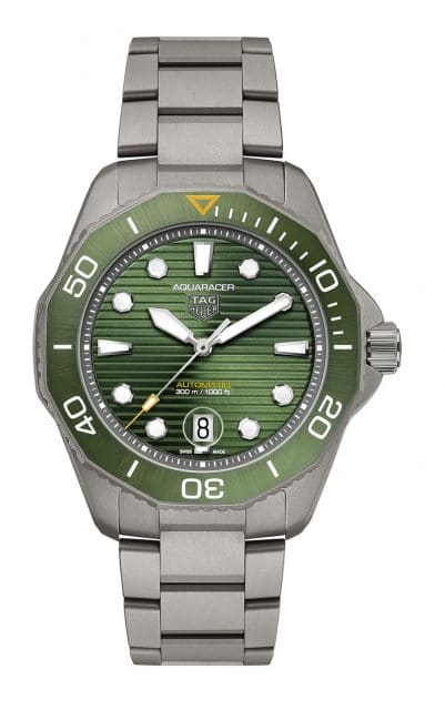 TAG Heuer: Aquaracer Professional 300 in Titan