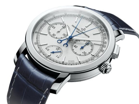 Vacheron Constantin: Traditionnelle Split-Seconds Chronograph Ultra-Thin Collection Platine