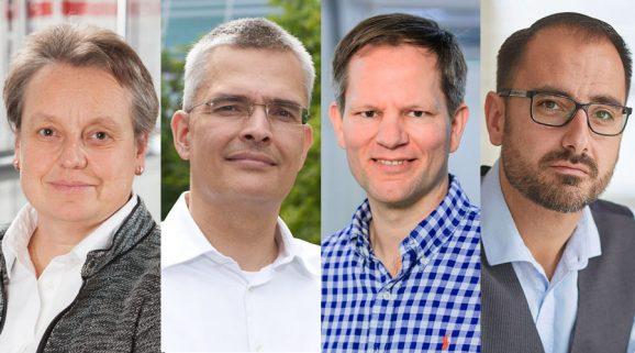 Die Redakteure: Martina Richter, Rüdiger Bucher, Jens Koch und Alexander Krupp stellen bei der Premiere von Watchtime Spotlight ihre persönlichen Uhrenhighlights vor