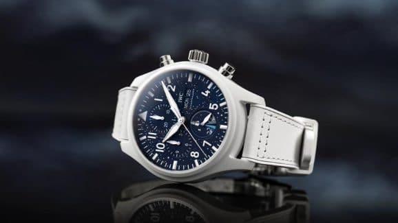 IWC Pilot's Watch Chronograph Edition Inspiration4 für den ersten rein zivilen Flug ins All