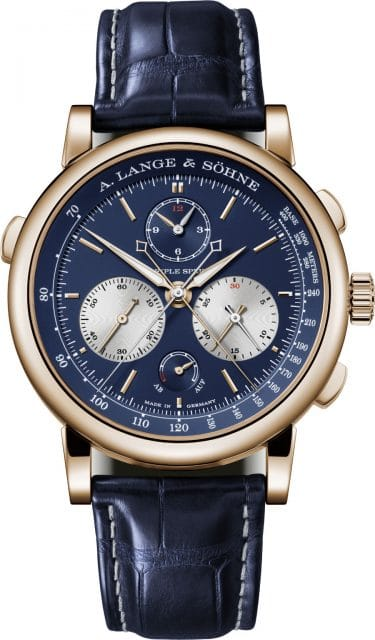 A. Lange & Söhne: Triple Split in Rotgold