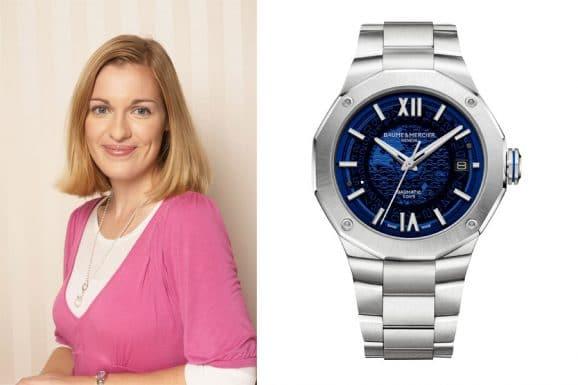 Katharina Studer, Redakteurin Watchtime.net, gefällt die Riviera von Baume & Mercier