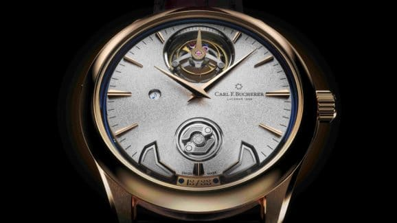 Carl F. Bucherer: Manero Minute Repeater Symphony Zifferblatt