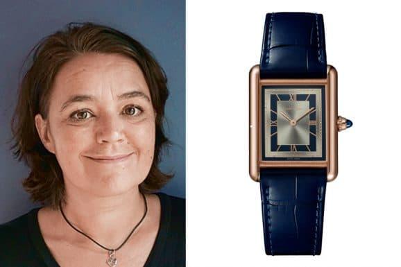 Favorit von Sabine Zwettler, Redakteurin UHREN-MAGAZIN: Cartier Tank Louis Cartier