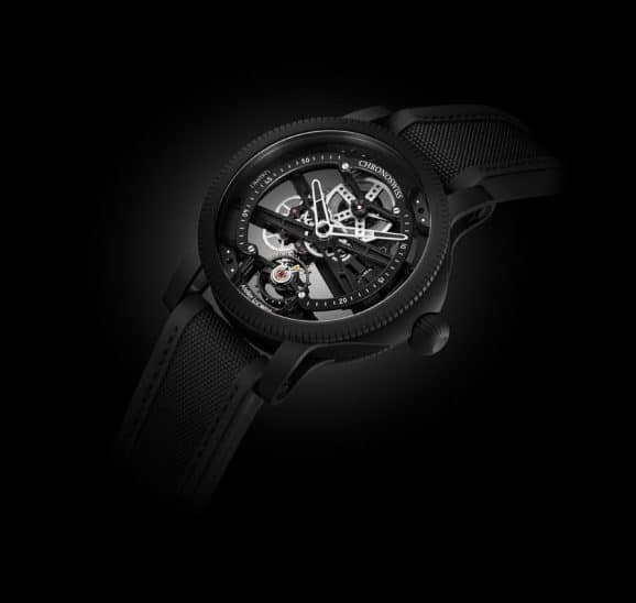 Chronoswiss: SkelTec Pitch Black