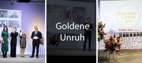 Awards Events Seitenteiler Goldene Unruh