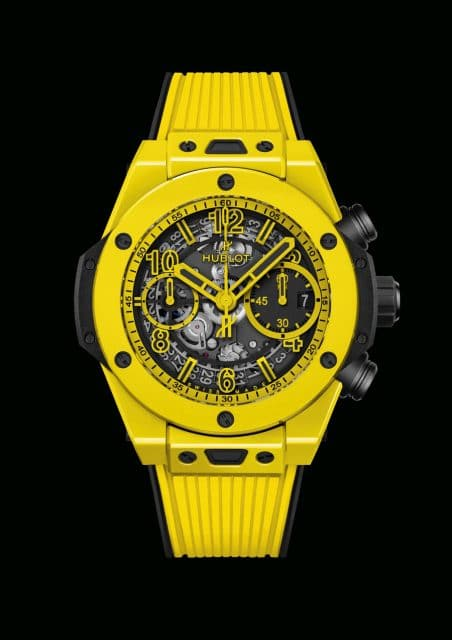 Hublot: Big Bang Unico Yellow Magic