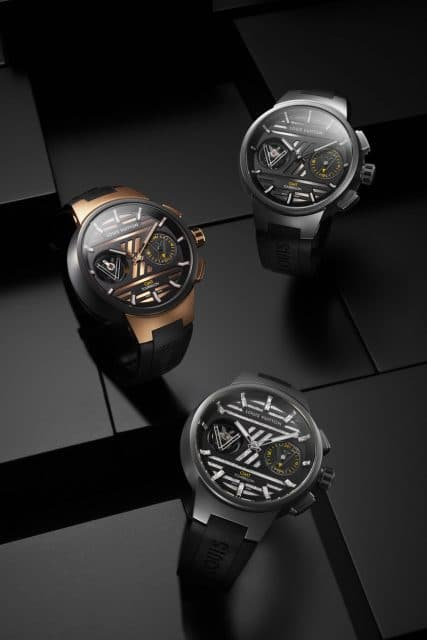Louis Vuitton: Tambour Curve GMT Flying Tourbillon