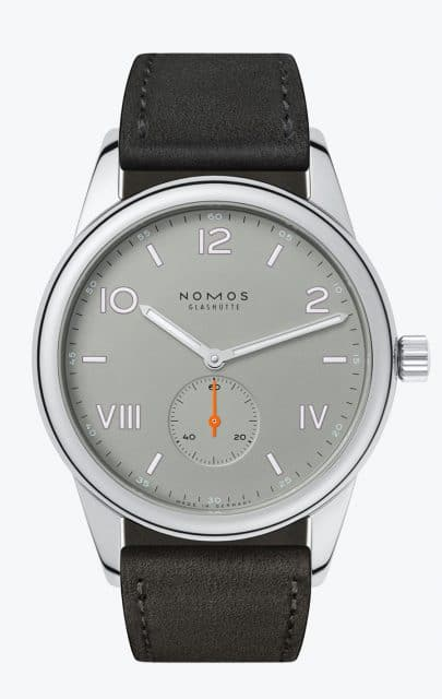 Nomos Glashütte: Club Campus in Grau