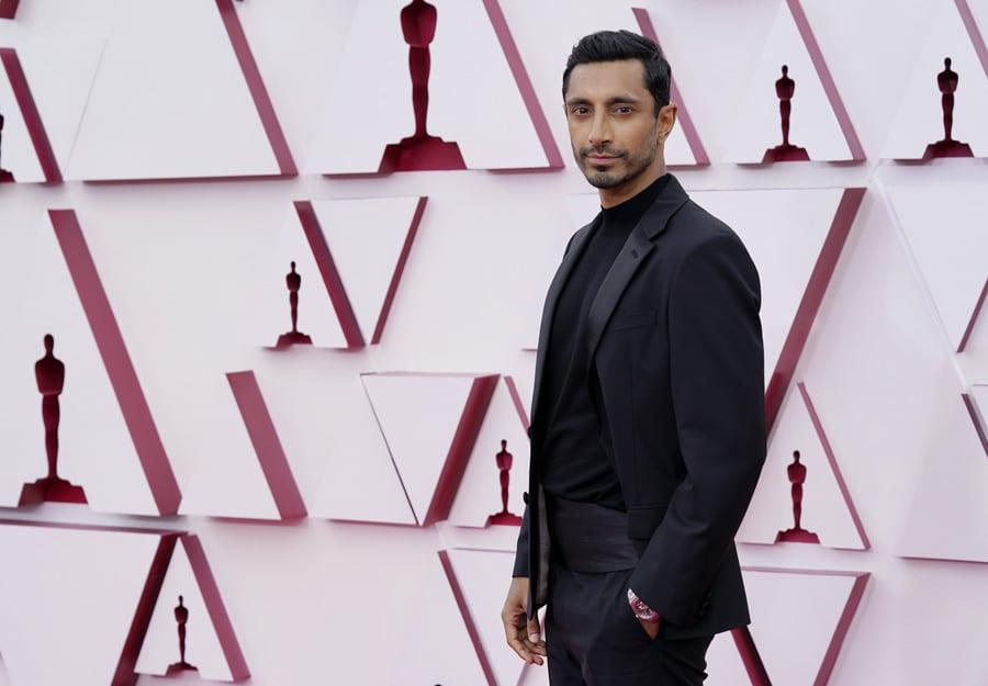 Riz Ahmed trug bei den Oscars 2021 eine Girard-Perregaux Laureato Skeleton