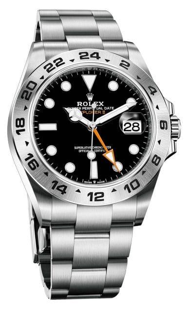 Neue Rolex Explorer II in Schwarz