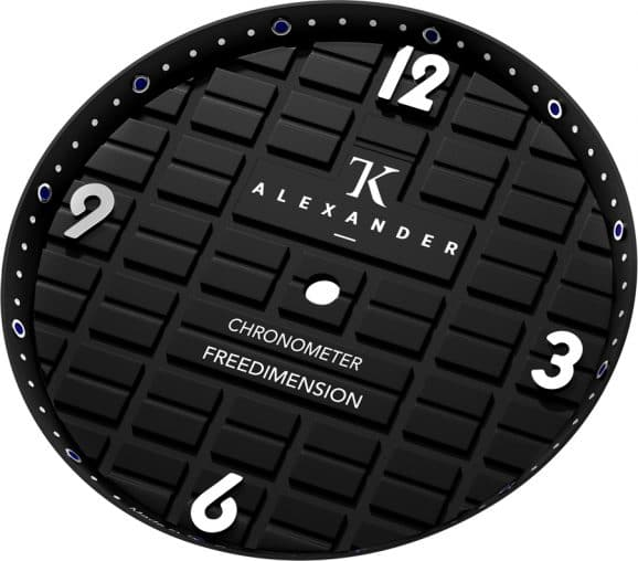 TK Alexander: Freedemension Chronometer Zifferblatt
