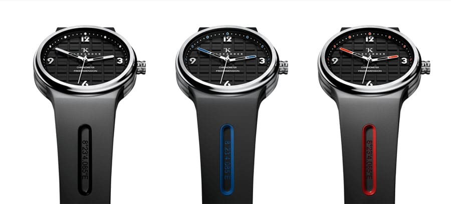TK Alexander: Freedemension Chronometer drei Varianten