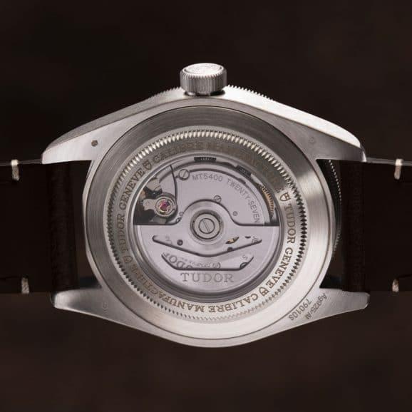 Tudor: Black Bay Fifty-Eight 925 mit Glasboden und dem Kaliber MT5400