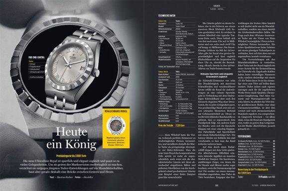 UHREN-MAGAZIN Heft 3/2021: Test Tudor Royal