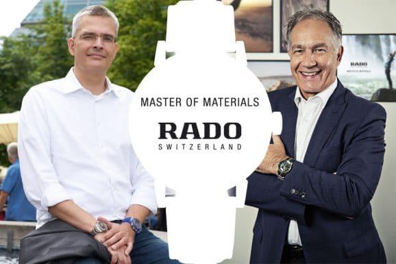 Watchtime Spotlight mit Rado: Rüdiger Bucher und Adrian Bosshard