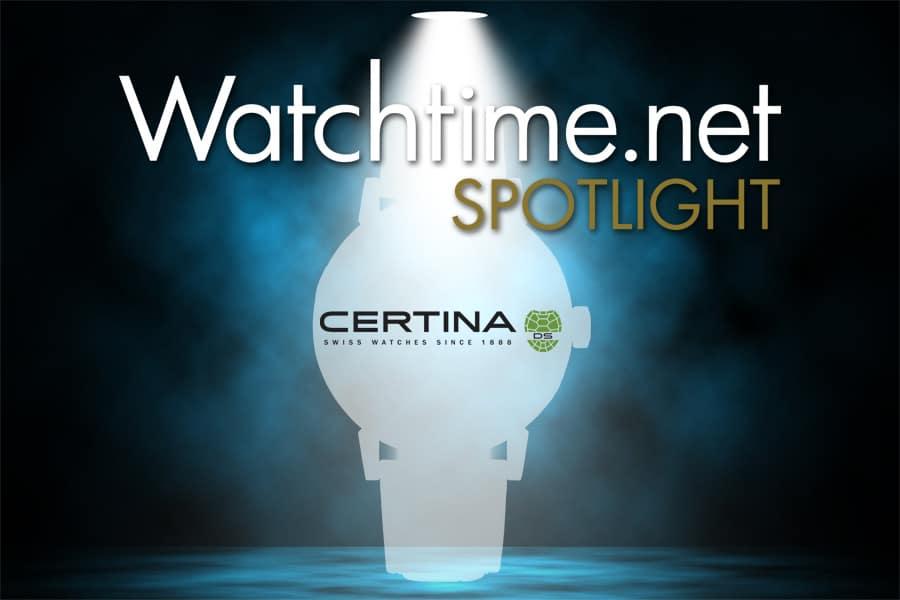Watchtime Spotlight mit Certina
