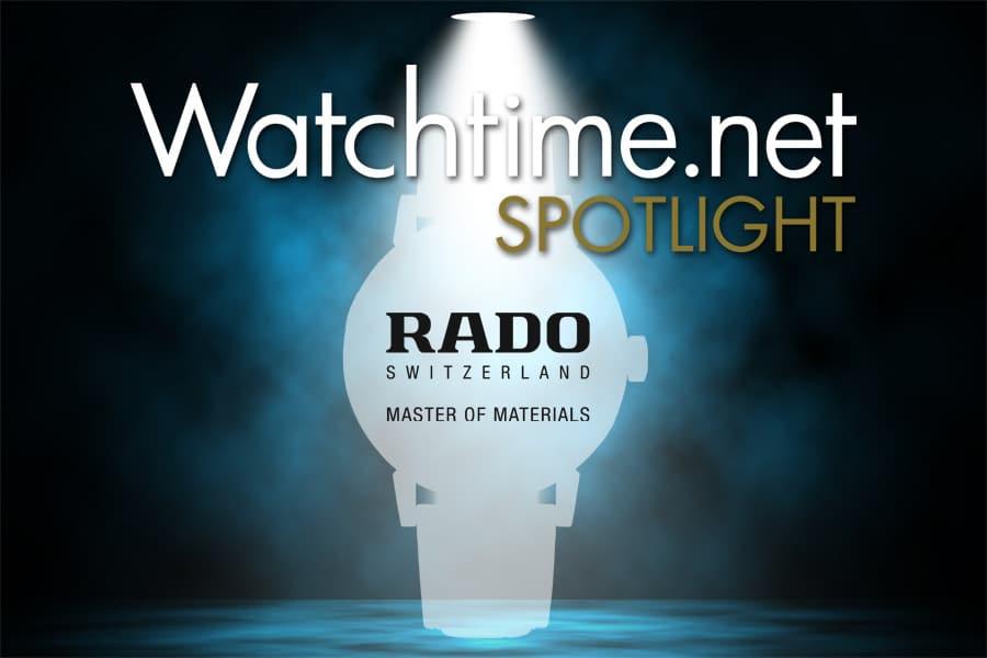 Watchtime Spotlight mit Rado