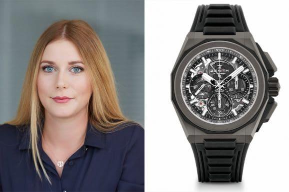 Nadja Ehrlich, Verantwortliche Online-Redakteurin Watchtime.net, kürt die Zenithy Defy Extreme zu ihrem Favoriten
