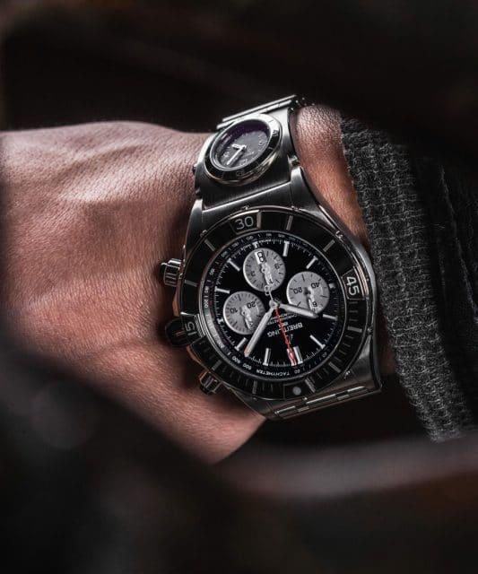 Breitling: Super Chronomat am Handgelenk