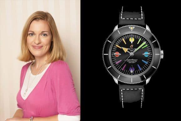 Katharina Studer, Redakteurin Watchtime.net, gefällt die Breitling Superocean '57