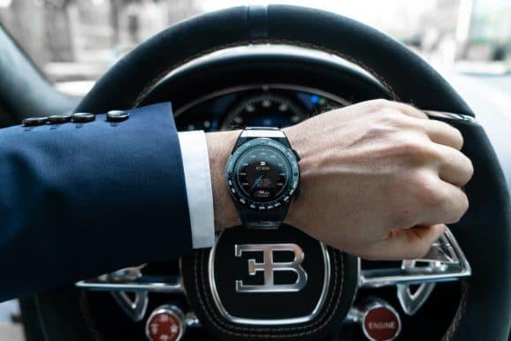 Bugatti: Ceramique Edition One am Handgelenk