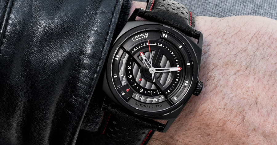 Code41: Anomaly Evoltion 42mm PVD Black