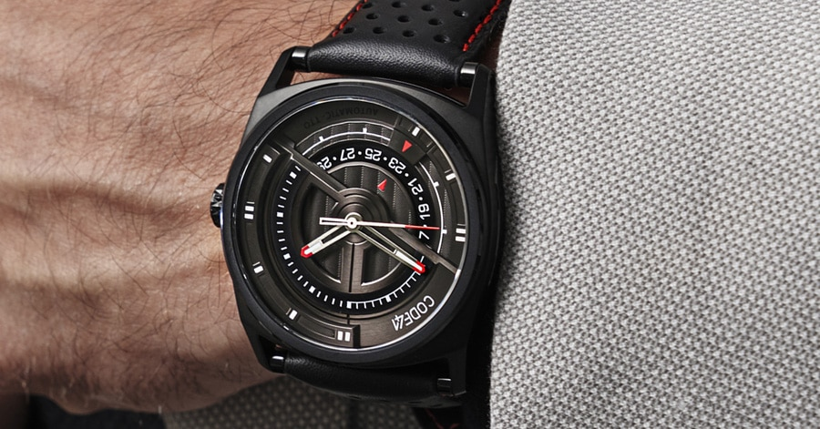 Code41: Anomaly Evolution 42mm PVD Black