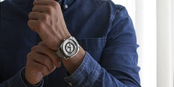 Code41: Anomaly Evolution 42mm Steel Silver