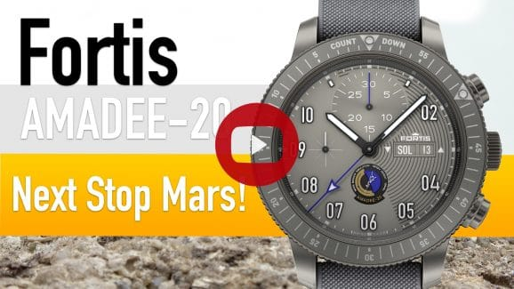 Thumbnail: Fortis Official Cosmonauts Chronograph Amadee-20