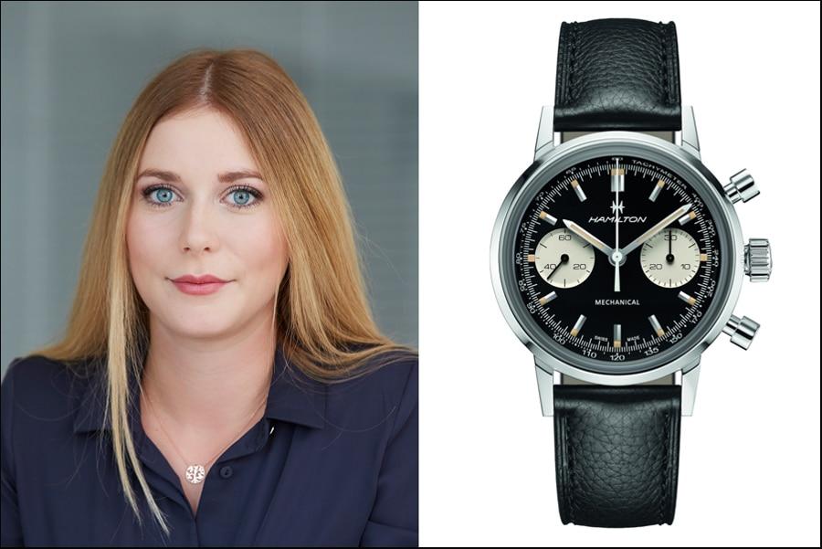 Nadja Ehrlich Favorit Retro-Uhren: Hamilton Intramatic Chronograph H