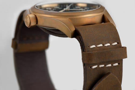 Hamilton: Khaki Field Mechanical Bronze Krone