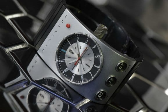 """Hamilton-Uhr in Stanley Kubricks Science-Fiction-Klassiker """"2001-A Space Odyssey"""" von 1968"""