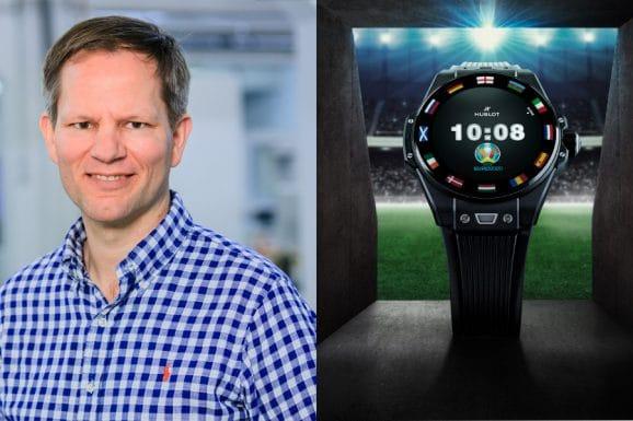 Beim Fußballschauen darf die Hublot Big Bang e UEFA EURO 2020 nicht fehlen, findet Chronos-Redakteur Jens Koch