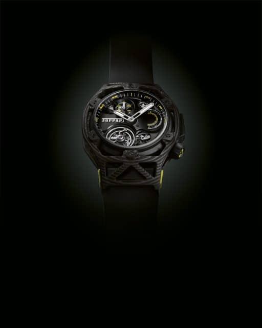 Hublot: MP Techframe Ferrari Tourbillon Chronograph