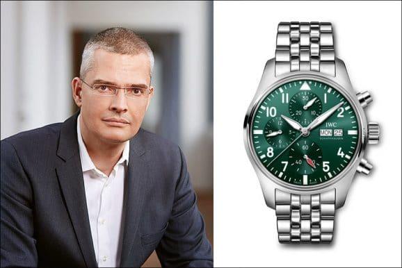 Rüdiger Bucher, Chefredakteur Chronos, empfiehlt die IWC Pilot's Watch Chronograph 41 zum Fußballschauen