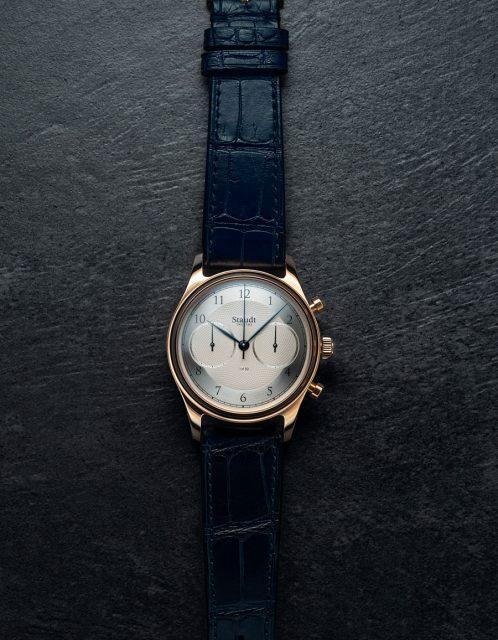 Staudt Twenthe: Guilloche Chronograph