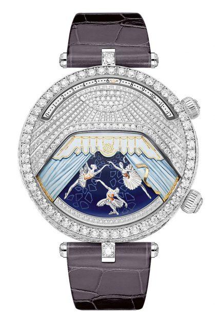 Van Cleef & Arpels: Lady Arpels Ballerine Musicale Diamant